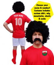 Wales Football Player Custom Fancy Dress Costume